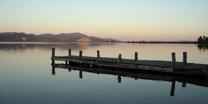 Torre del Lago - tramonto