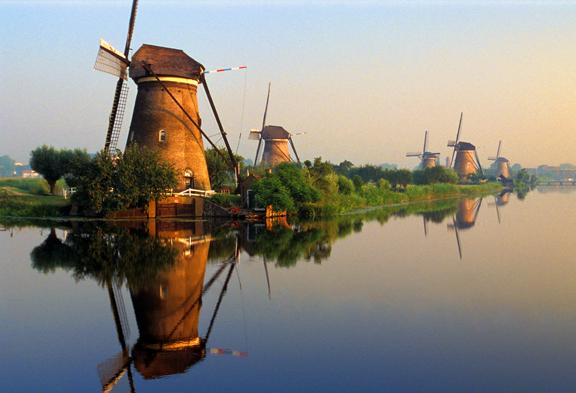 Olanda - Mulini a Kinderdijk