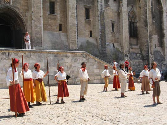 Festival del teatro a luglio a Avignone