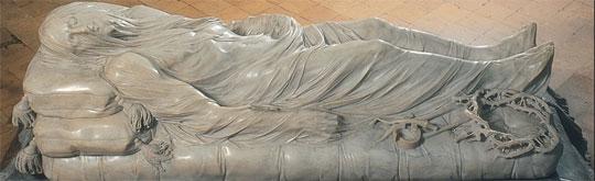 Cristo Velato di Sanmartino nella Cappella Sansevero