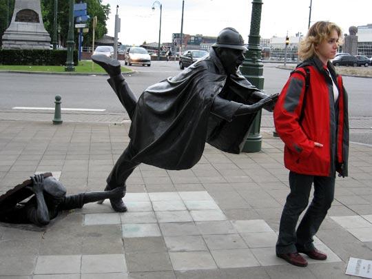 fotografia divertente in belgio