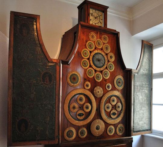 Orologio nell'Uhrenmuseum a Vienna
