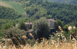 Borgo Le Torricelle dall'alto