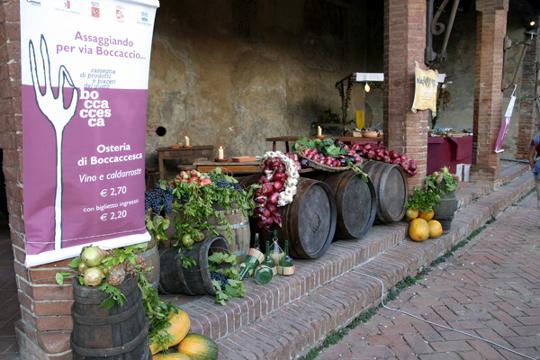 Rassegna gastronomica Boccaccesca a Certaldo
