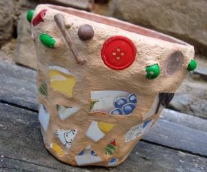 il mio vaso realizzato a Le Torricelle