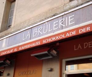 Brulerie Aix-en-Provence - insegna