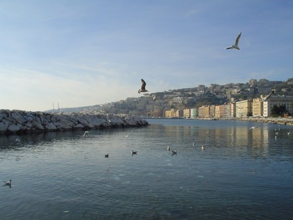 Napoli - lungomare d'inverno