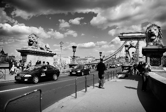 Budapest - Ponte delle Catene sul Danubio
