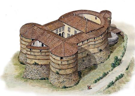 Rocca di Sassocorvaro - tartaruga