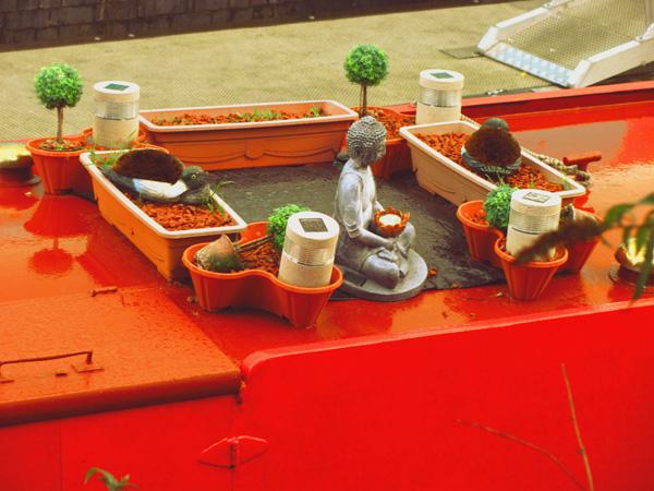 Castlefield- barca a vapore