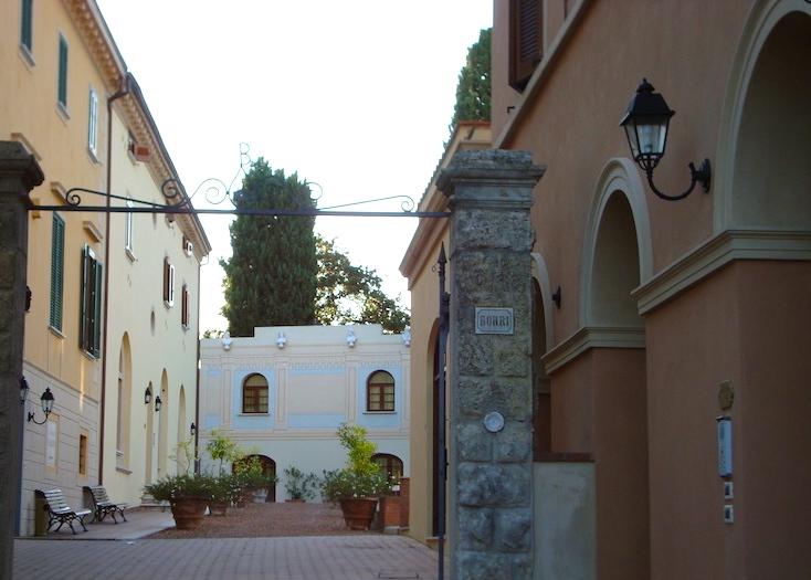 Ingresso Villa Borri - Casciana Terme