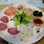 Degustazione a base di tartufo