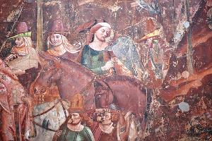 Trionfo della Morte di Buffalmacco nel Camposanto di Pisa