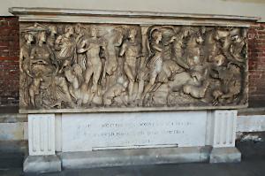 Camposanto Pisa: sarcofago romano