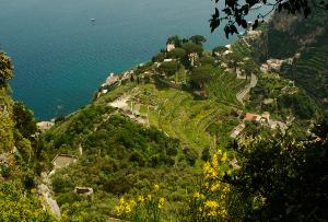Panorama della Costiera Amalfitana da Villa Cimbrone