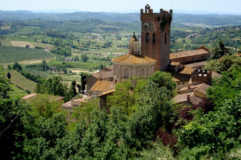 San Miniato (PI) - vista dalla Rocca di Federico II