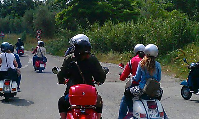 Tour Valdera in Vespa